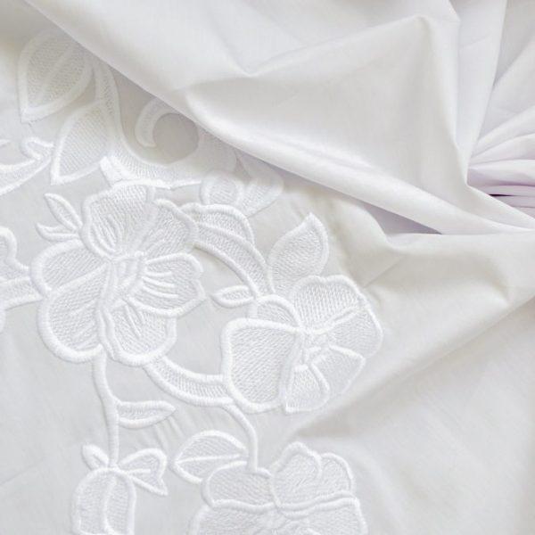 Сорочечная ткань с вышивкой арт. 230831522, фото 2