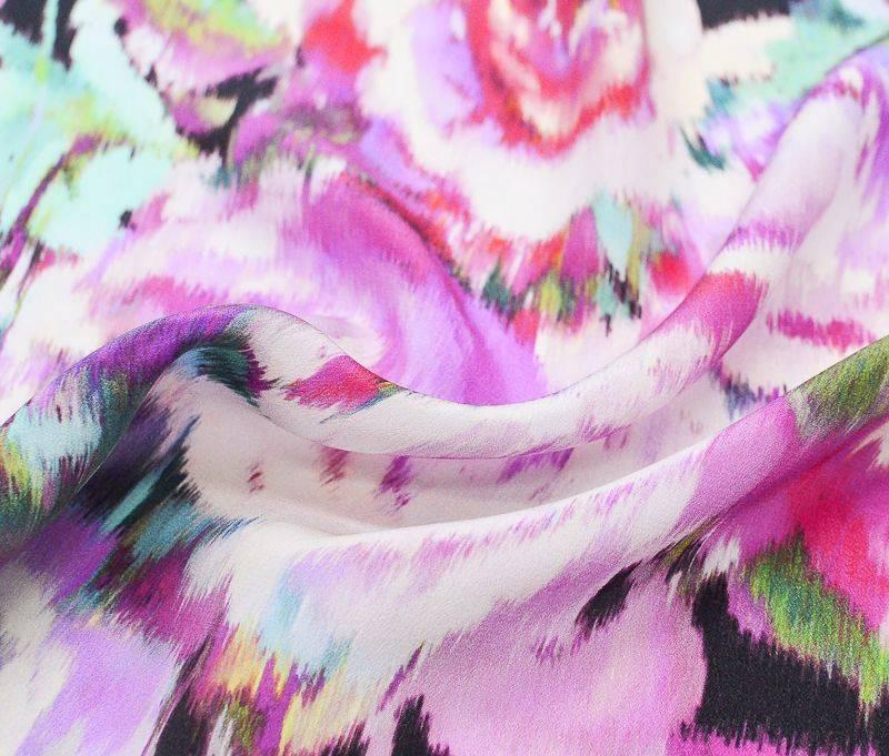 Крепдешин шелковый плательно- блузочный 4425 арт. 23201/5807582, фото 1
