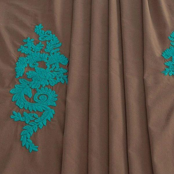 Сорочечная ткань с вышивкой арт. 230831212, фото 1