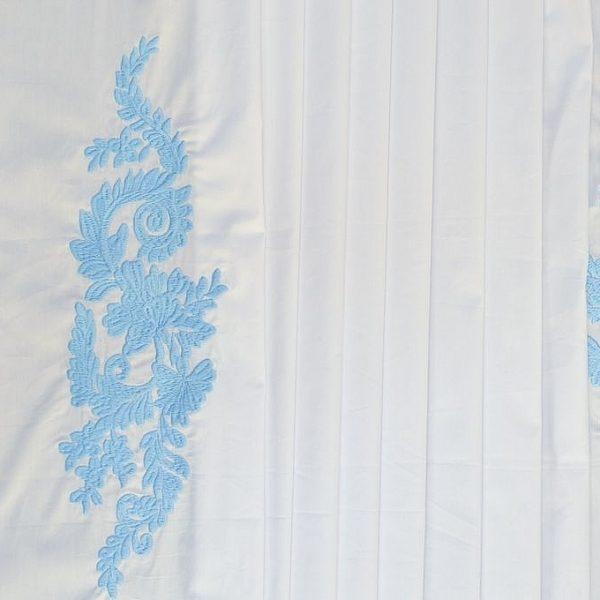 Сорочечная ткань с вышивкой арт. 230831072, фото 1