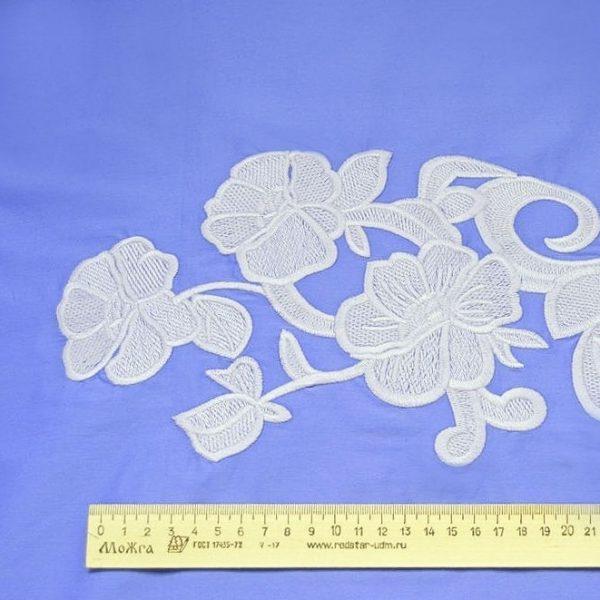 Сорочечная ткань с вышивкой арт. 230831762, фото 2