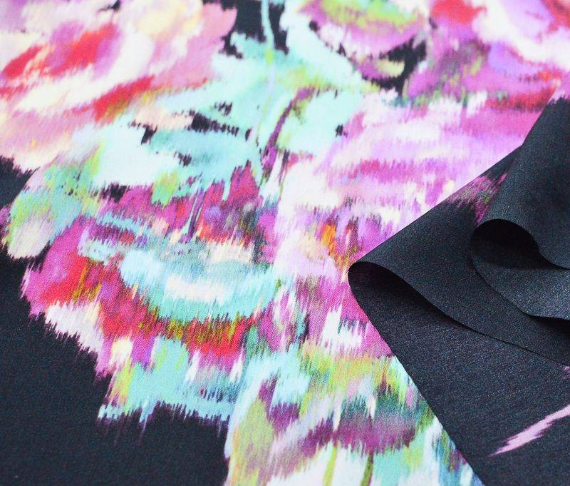 Крепдешин шелковый плательно- блузочный 4425 арт. 23201/5807582, фото 2