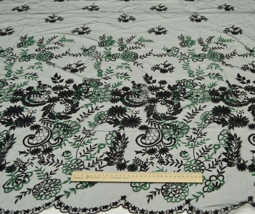 Декоративная вышивка на сетке арт. 230606272, фото 2