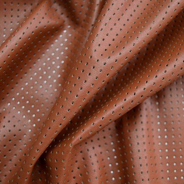 Искусственная перфорированная кожа арт. 2497932, фото 1