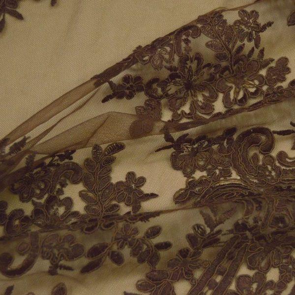 Кружевное полотно с кордовым шнуром арт. 2446822, фото 2