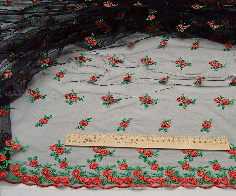 Декоративная вышивка на сетке арт. 230667592, фото 2