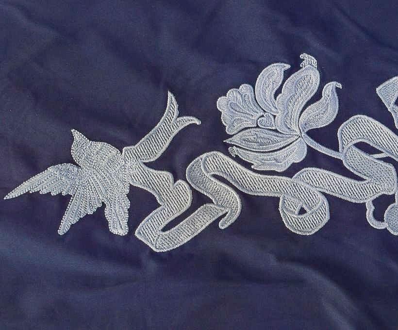 Сорочечная ткань с вышивкой арт. 230832202, фото 3