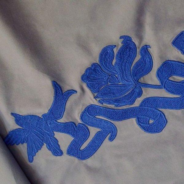 Сорочечная ткань с вышивкой арт. 230832132, фото 1