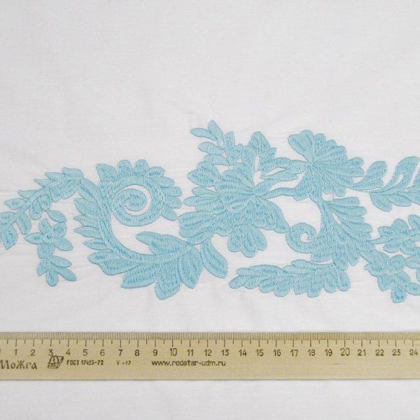 Сорочечная ткань с вышивкой арт. 230831072, фото 2