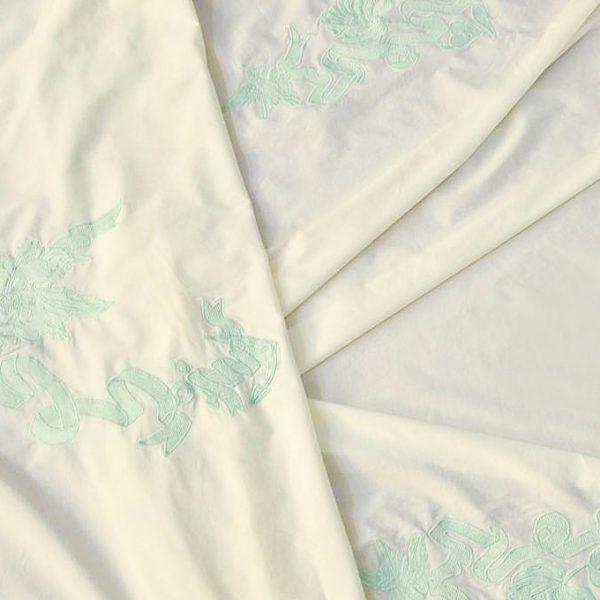 Сорочечная ткань с вышивкой арт. 230832372, фото 1