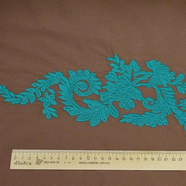 Сорочечная ткань с вышивкой арт. 230831212, фото 2