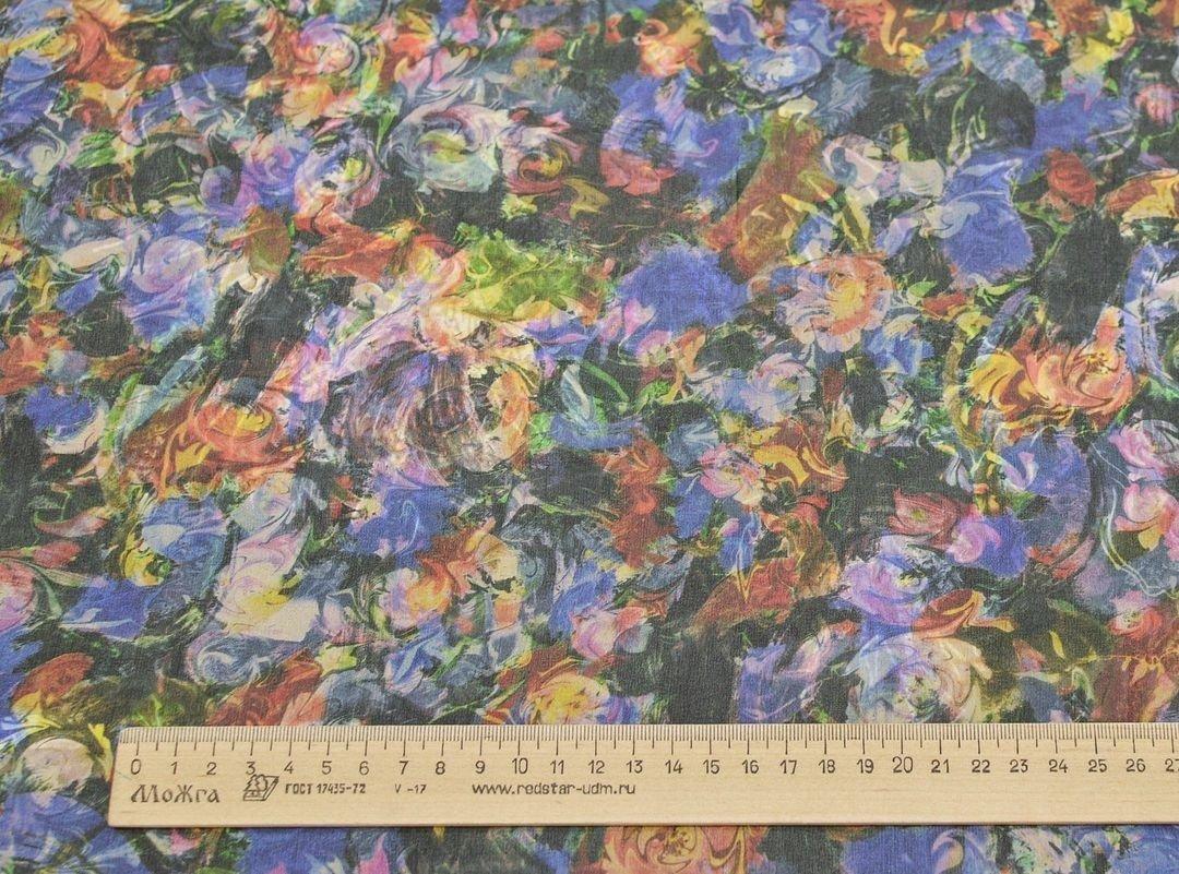 Шифон шелковый плательно-блузочный арт. 230819122, фото 1