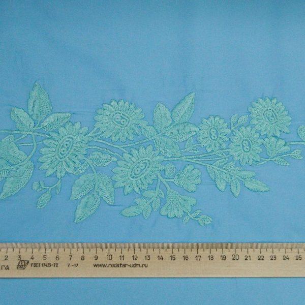 Сорочечная ткань с вышивкой арт. 230831832, фото 1