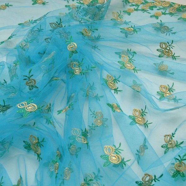 Декоративная вышивка на сетке арт. 230667732, фото 1