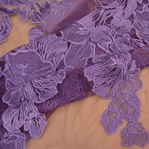 Декоративная вышивка на сетке арт. 230533462, фото 1