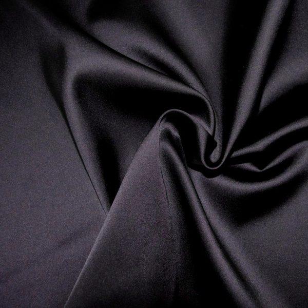 Атлас плательно -костюмный темный Фиолетовый арт. 2548412, фото 2