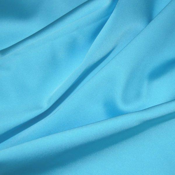 Атлас плательно -костюмный Бирюзовый арт. 2546502, фото 1
