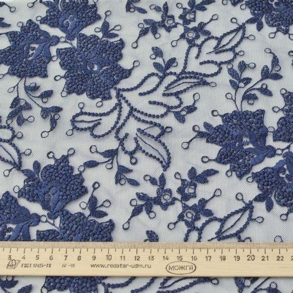 Вышивка на сетке (цветочный рисунок) арт. 230959262, фото 1