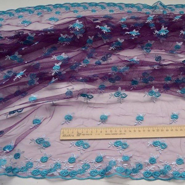 Декоративная вышивка на сетке арт. 230667802, фото 2