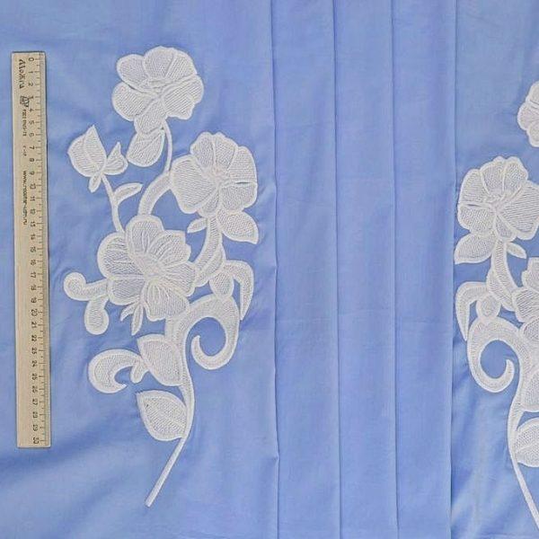 Сорочечная ткань с вышивкой арт. 230831762, фото 1