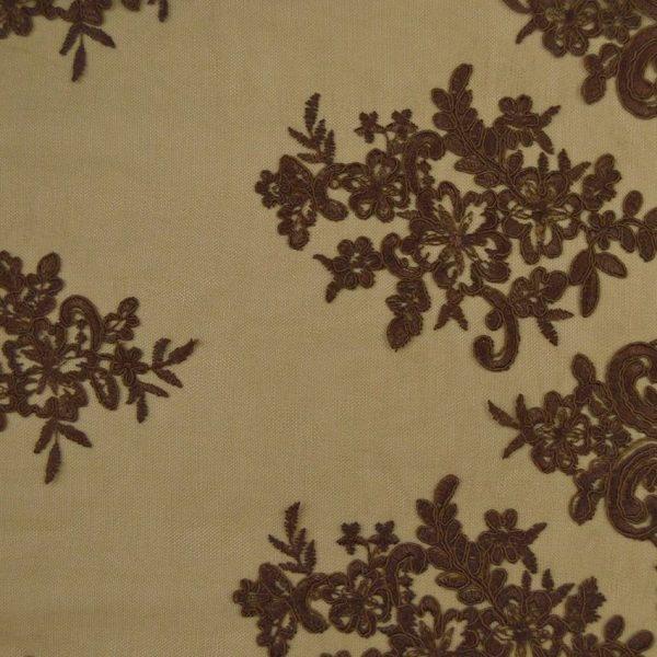Кружевное полотно с кордовым шнуром арт. 2446822, фото 1