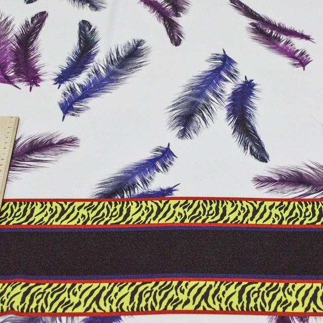 Атлас блузочный матовый палантин (купон 1,20*1,40) арт. 232/9576362, фото 3