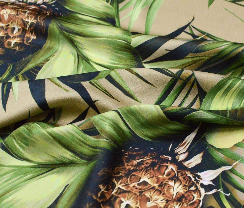 Атлас шелковый Dolce Gabbana 33973 арт. 23201/1748582, фото 1