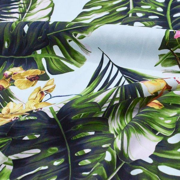 Атлас шелковый Dolce Gabbana 339812 арт. 23201/1746122, фото 1