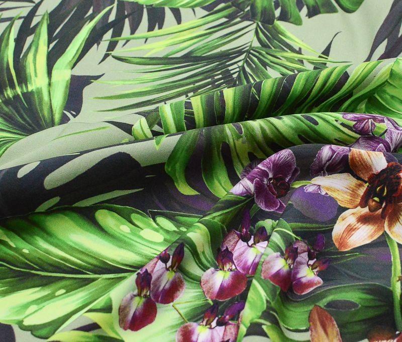 Атлас шелковый Dolce Gabbana 33987 арт. 23201/1746812, фото 1