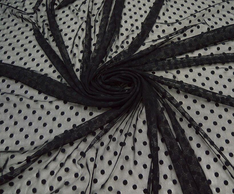 Декоративная сетка (рисунок горох) арт. 230765432, фото 2