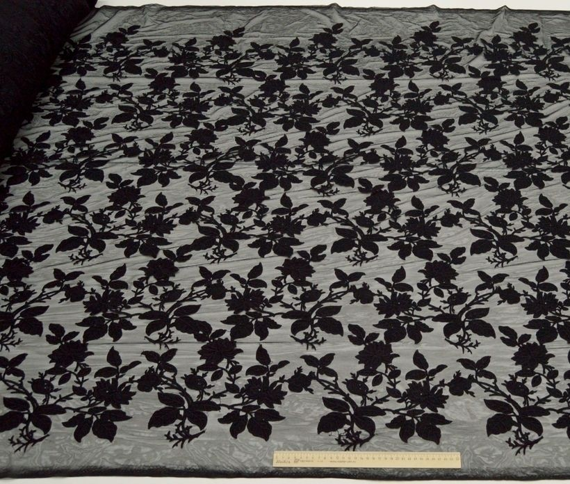 Декоративная вышивка на сетке арт. 230533082, фото 3