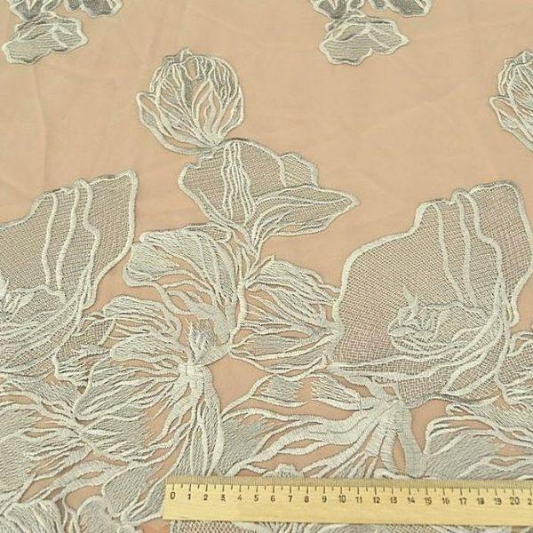 Декоративная вышивка на сетке арт. 230533392, фото 2