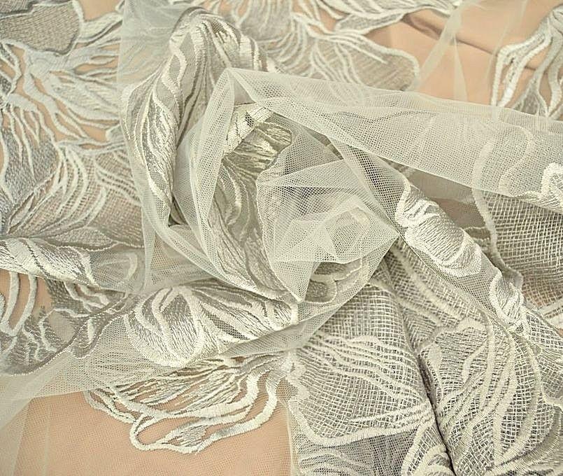Декоративная вышивка на сетке арт. 230533392, фото 3