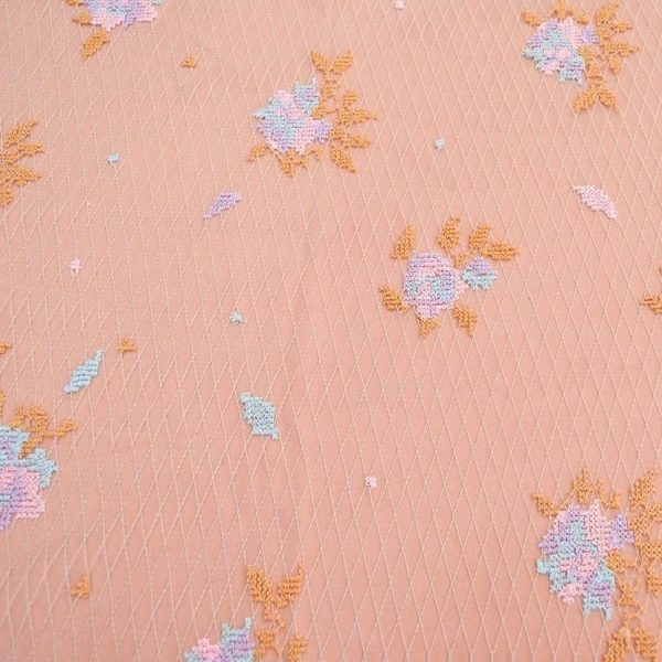 Декоративная вышивка на сетке арт. 230530702, фото 2