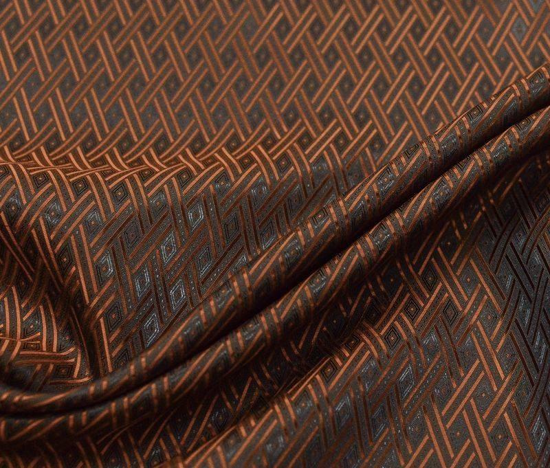 Жаккардовая подкладочная ткань 0009 арт. 298/17002, фото 1