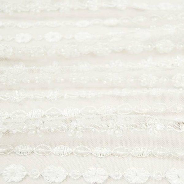Кружевное полотно расшитое бисером арт. 230495302, фото 2