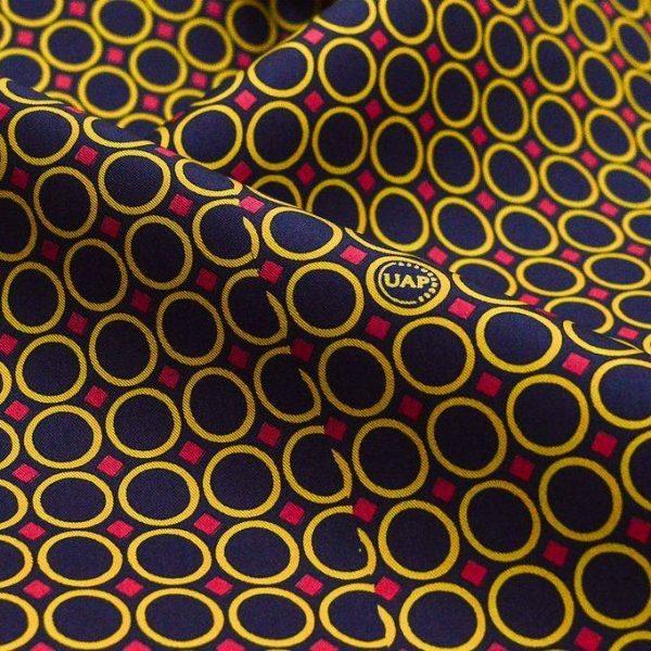 Галстучный шелк (купон 1,0*1,0м) арт. 232/4013372, фото 1