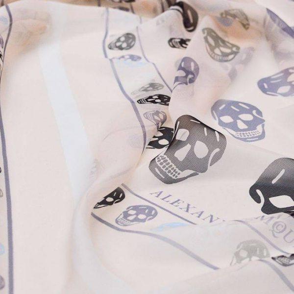 Платочная ткань Alexander McQueen купон 140см*140см арт. 23201/5314602, фото 1
