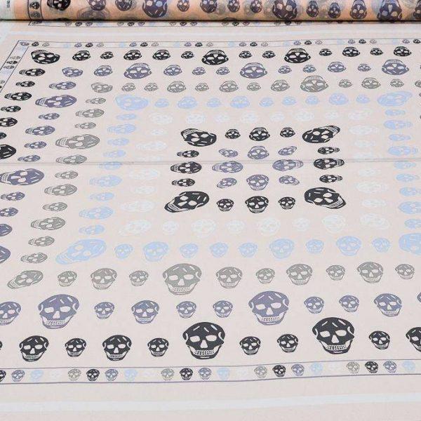 Платочная ткань Alexander McQueen купон 140см*140см арт. 23201/5314602, фото 2