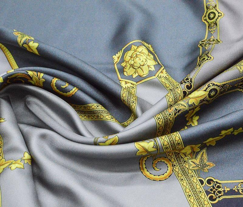 Шелк- твил  плательный Versace 1035 арт. 23201/4399952, фото 1