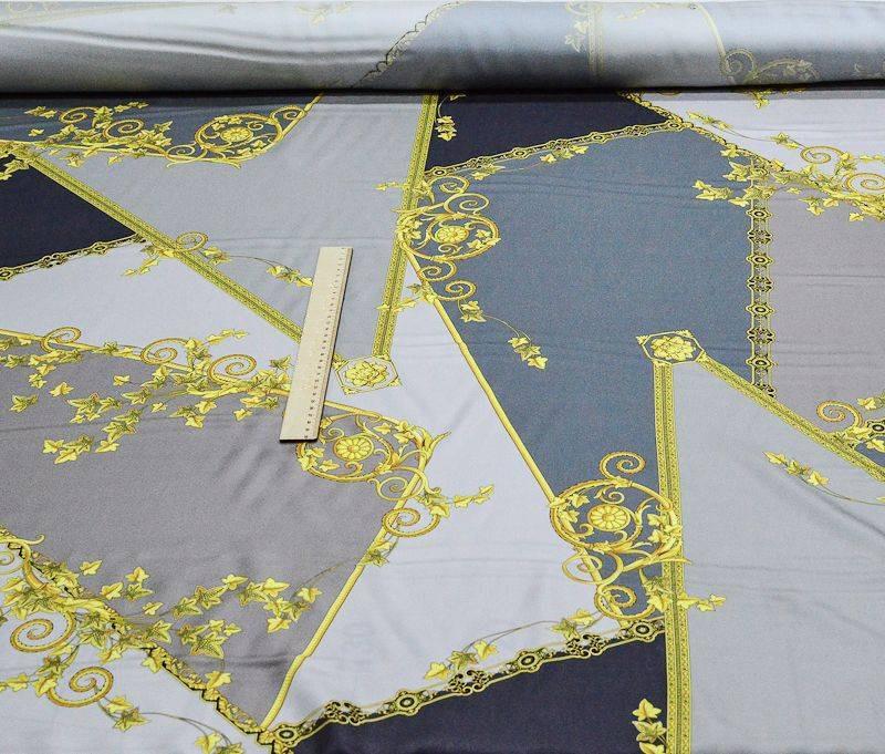 Шелк- твил  плательный Versace 1035 арт. 23201/4399952, фото 4