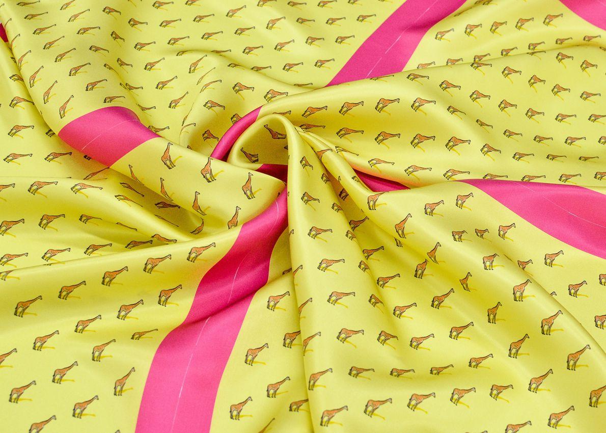 Шелковая ткань на шейные платки 0,45*0,45 арт. 230851252, фото 2