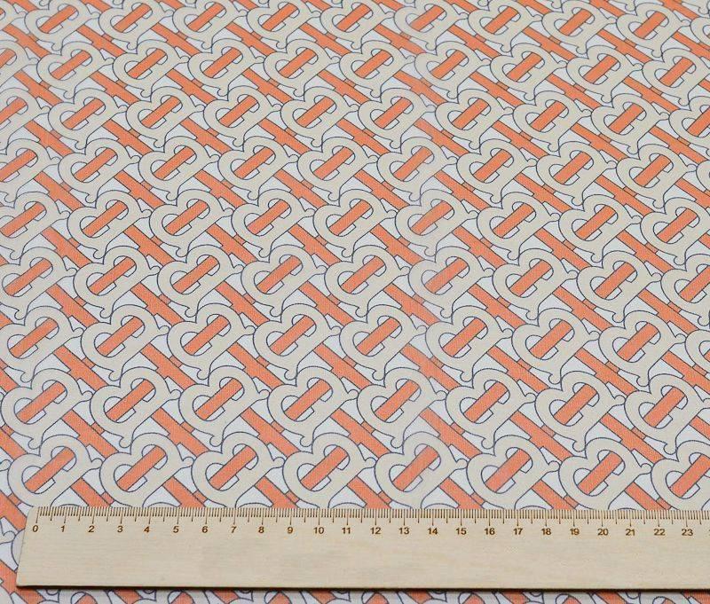 Шифон шелковый Burberry 1715 арт. 23202/279002, фото 4
