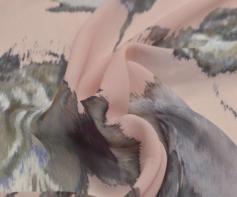 Шифон шелковый плательно-блузочный арт. 230219252, фото 2