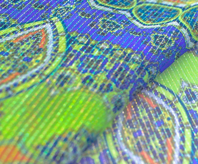 Шифон шелковый плательно- блузочный арт. 23611/02192, фото 3