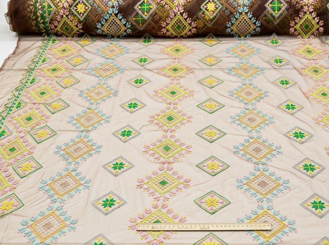 Вышивка крестиком на сетке (в народном стиле) арт. 230999312, фото 3