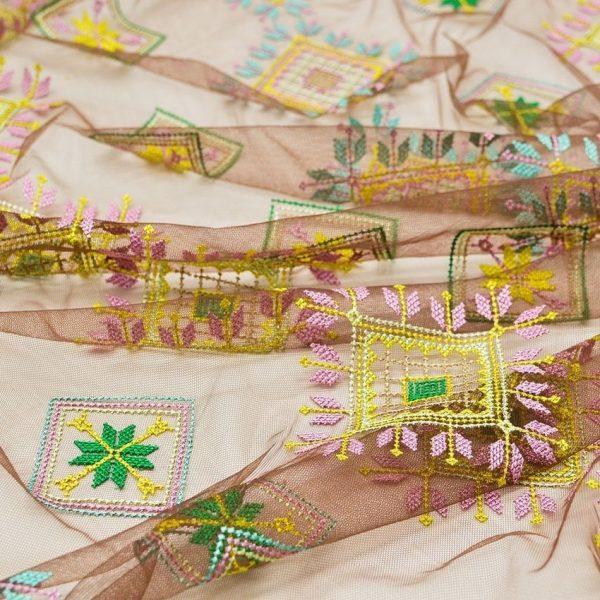Вышивка крестиком на сетке (в народном стиле) арт. 230999312, фото 1