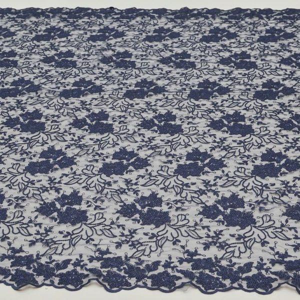 Вышивка на сетке (цветочный рисунок) арт. 230959262, фото 2